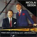 F. Liszt Songs Vol. 2 Gedda (ten) Roos (pno)