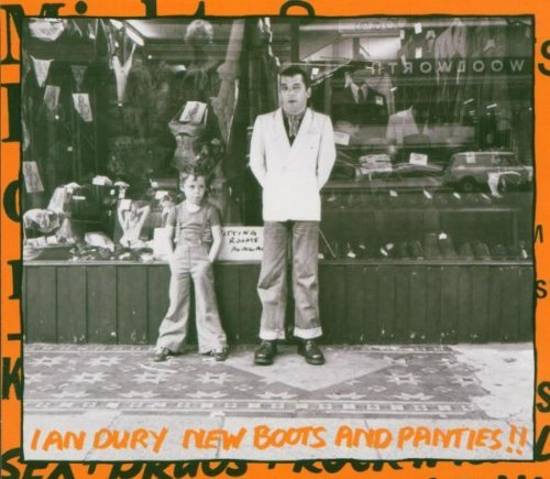 Ian Dury New Boots & Panties Import Gbr 2 CD Incl. Bonus Tracks
