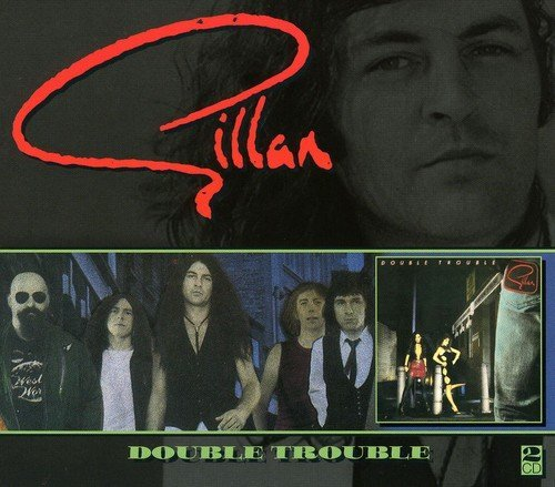 Gillan Double Trouble Import Gbr 2 CD