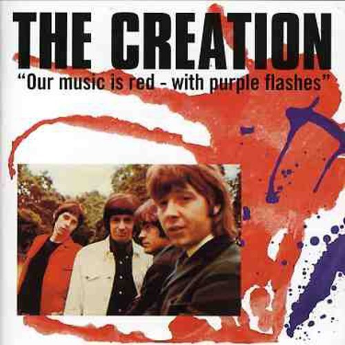 Creation Our Music Is Red With Purple F Import Gbr Incl. Bonus Tracks