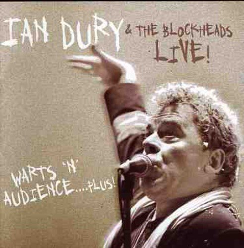 Ian & The Blockheads Dury Warts N Audience Import Gbr Incl. Bonus Track