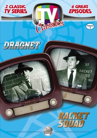 Reel Values Tv Classics Vol. 4 Dragnet Racket Squad Clr Nr