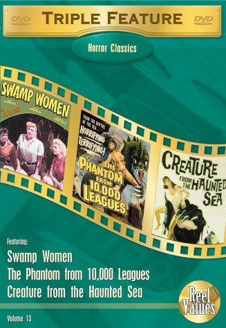 Reel Values Horror Triple Feat Vol. 13 Swamp Woman She Demons Clr Nr
