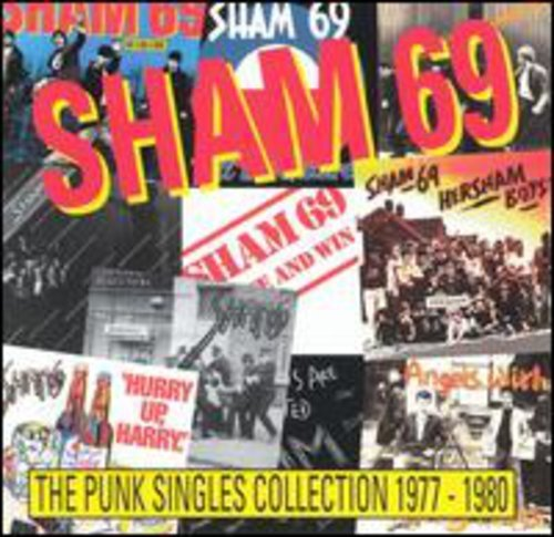 Sham 69 Punk Singles Collection