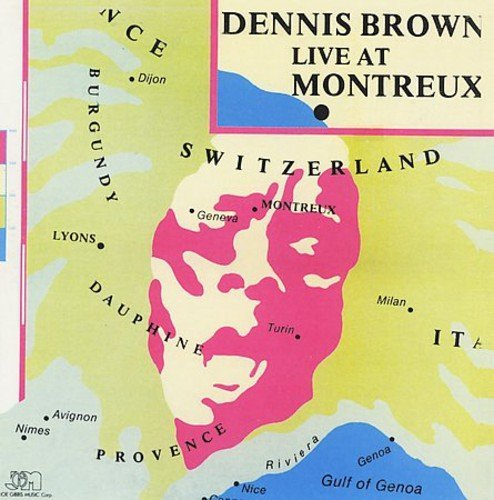 Dennis Brown Live At Montreux CD DVD Incl. DVD