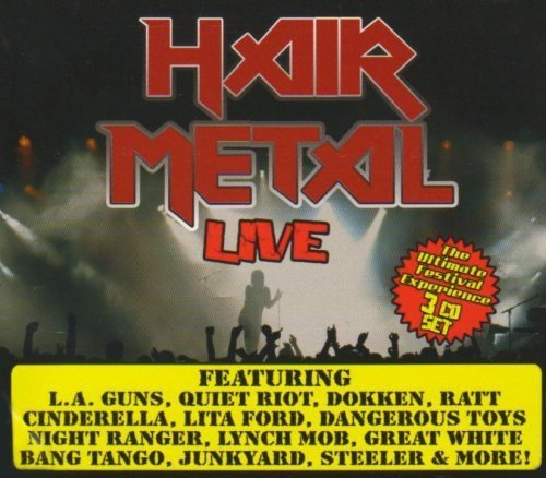 Hair Metal Live Hair Metal Live Deluxe Ed. 3 CD Set