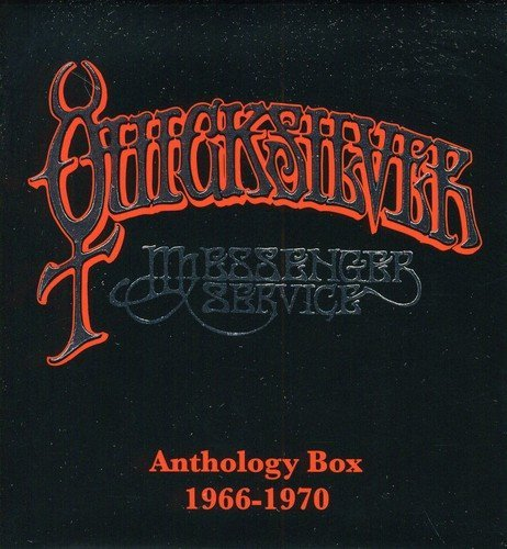 Quicksilver Messenger Service Anthology Box 1966 1970 4 CD