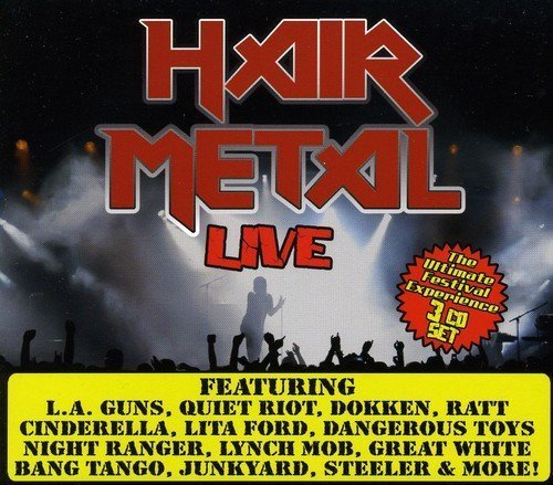 Hair Metal Live Hair Metal Live 3 CD
