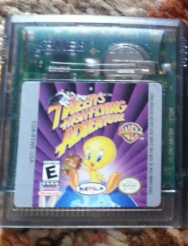 Gameboy Color Tweety's High Flying Adventure E