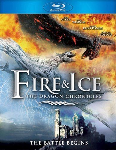 Fire & Ice The Dragon Chronic Acker Wisdom Rhys Davies Voslo Blu Ray Ws Pg13