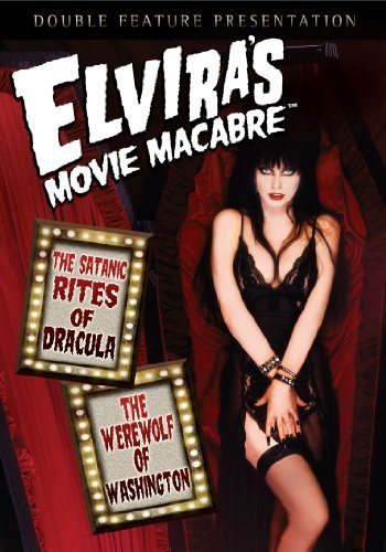 Satanic Rites Of Dracula Werew Elvira's Movie Macabre Nr