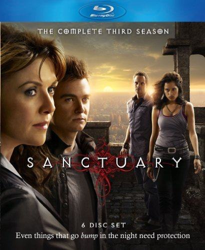 Sanctuary Season 3 Blu Ray