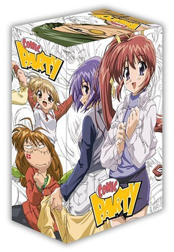 Comic Party Vol. 1 4 Clr Jpn Lng Eng Dub Sub Nr 4 DVD