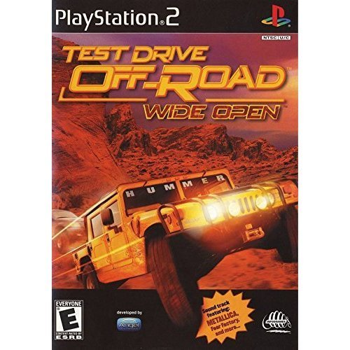 Ps2 Test Drive Off Road Wide Open E