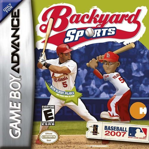 Gba Backyard Sports Baseball 2007