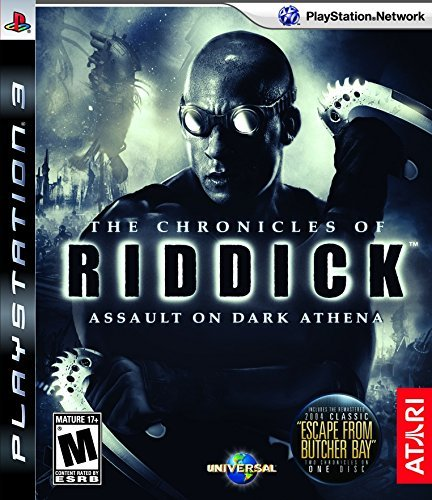 Ps3 Riddick Assault On Dark Athena