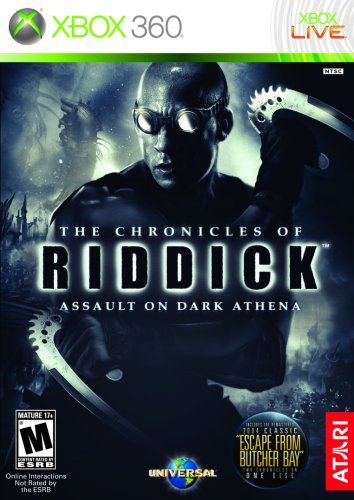 Xbox 360 Chronicles Of Riddick Assault On Dark Athena