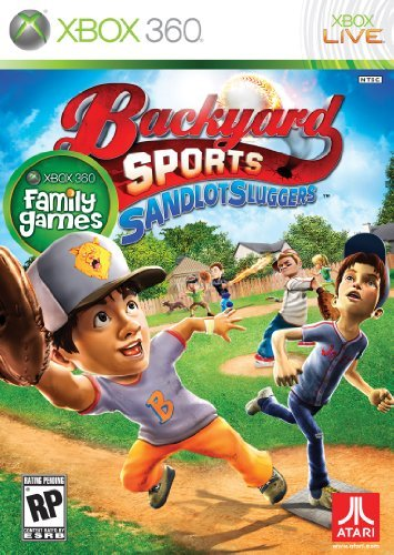 Xbox 360 Backyard Sports Sandlot Sluggers Orders Due 04 16 10