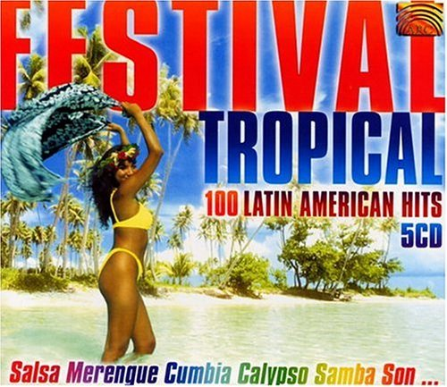 Festival Tropical Festival Tropical 100 Latin 5 CD