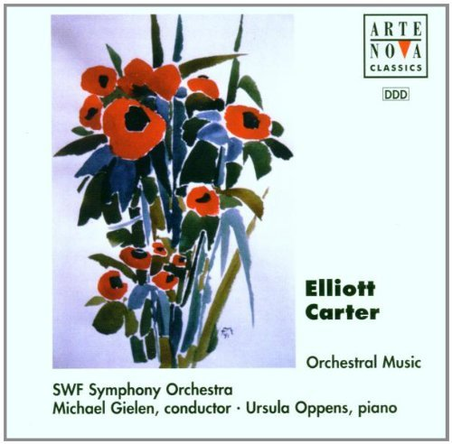 E. Carter Orchestral Music Gielen Swf So