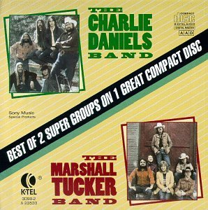 Daniels Charlie Band Marshall Best Of 2 Super Groups On 1 Ca 2 Artists On 1