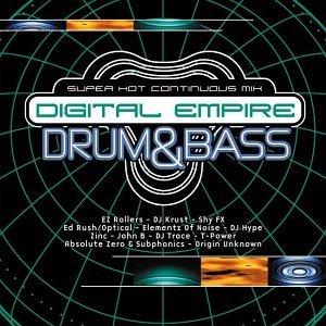Digital Empire Vol. 1 Drum & Bass Dj Trace Dj Hype Shy Fx Zinc Digital Empire