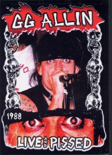 Gg Allin Live & Pissed 1988 Nr