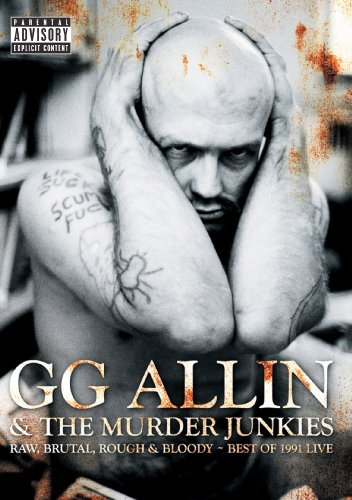 Gg Allin Raw Brutal Rough & Bloody Best Nr