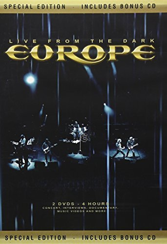 Europe Live From The Dark Special Ed. Incl. CD