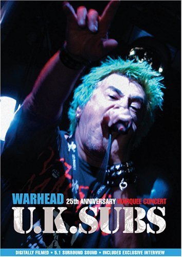 Uk Subs Warhead 25th Anniversary Live Nr