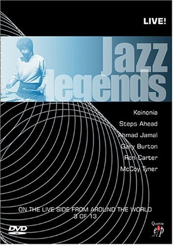 Jazz Legends Live! Vol. 3 Jazz Legends Live! Carter Tyner Burton Jazz Legends Live