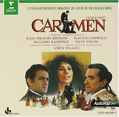 G Bizet Carmen (highlights) Maazel Orch Natl France