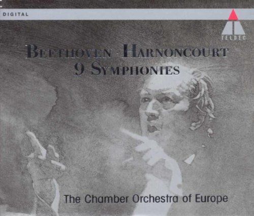 L.V. Beethoven Sym 1 9 Comp Margiono Remmert Schasching + Harnoncourt Europe Co
