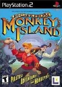 Ps2 Escape From Monkey Island T