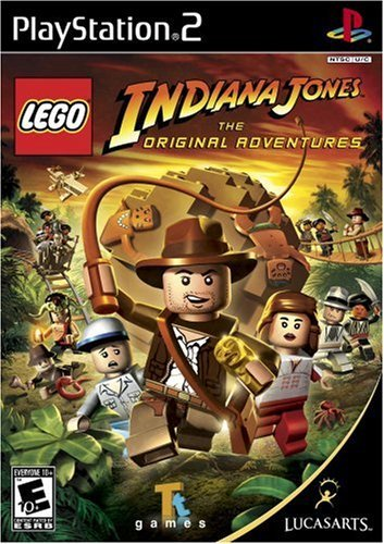 Ps2 Lego Indiana Jones