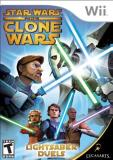 Wii Star Wars The Clone Wars Lightsaber Duels