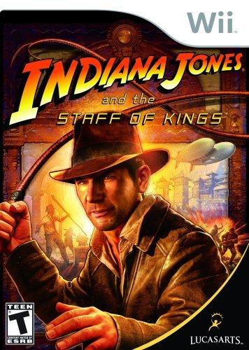 Wii Indiana Jones & The Staff Of Kings T