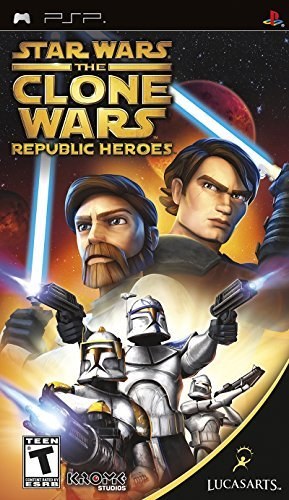 Psp Star Wars The Clone Wars Republic Heroes