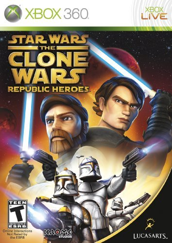 Xbox 360 Star Wars The Clone Wars Republic Heroes