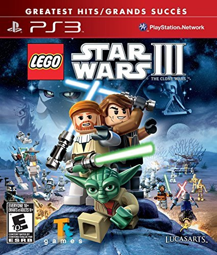 Ps3 Lego Star Wars 3 The Clone War