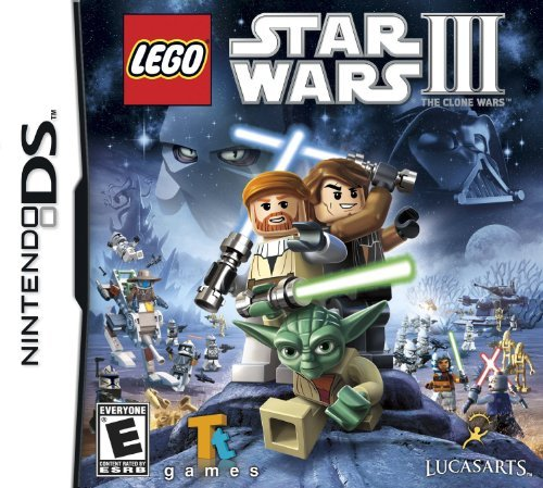 Nintendo Ds Lego Star Wars 3 The Clone War