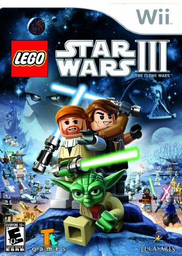 Wii Lego Star Wars 3 The Clone War