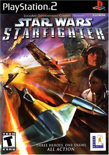 Ps2 Star Wars Starfighter T