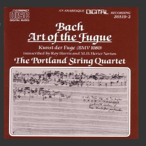 J.S. Bach Art Of Fugue Portland Str Qt