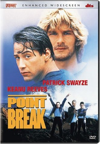 Point Break Swayze Reeves Busey Petty Clr Cc 5.1 Dts Aws R