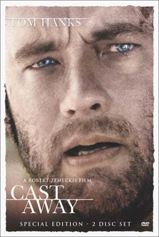 Cast Away Hanks Hunt Clr Cc 5.1 Dts Aws Spa Sub Pg13 2 DVD Spec. Ed.