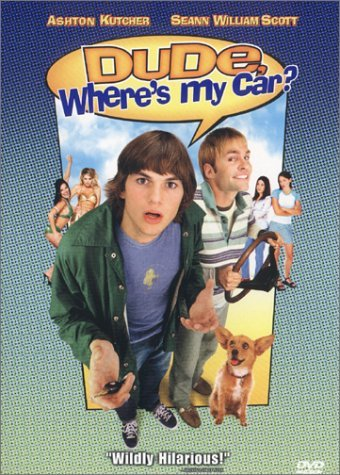 Dude Where's My Car Kutcher Scott Swanson Sparks Clr Cc 5.1 Aws Spa Sub Pg13