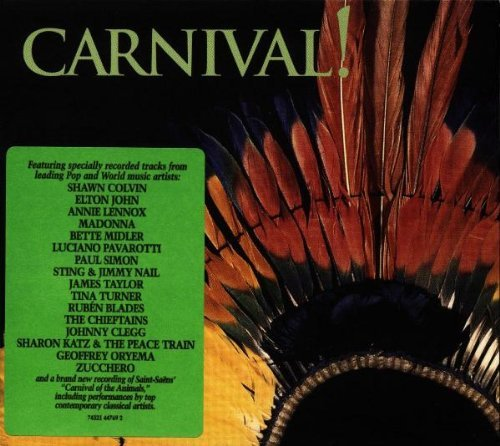 Rainforest Foundation Carnival 1997 Rainforest Found Madonna Chieftains Clegg Karr Midler Lennox John Pavarotti