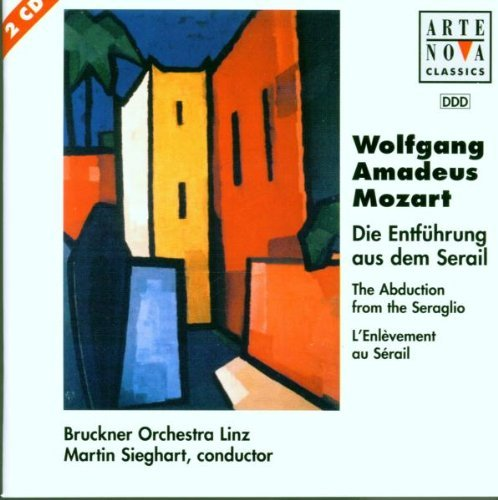 W.A. Mozart Abduction From Seraglio Comp O Sieghart Bruckner Orch Linz