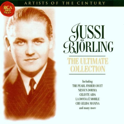 Jussi Bjorling Ultimate Collection Bjorling (ten) Artists Of The Century Series